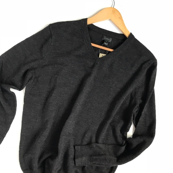 99391fb4d Men's J. Crew slim rugged cotton sweater NWT